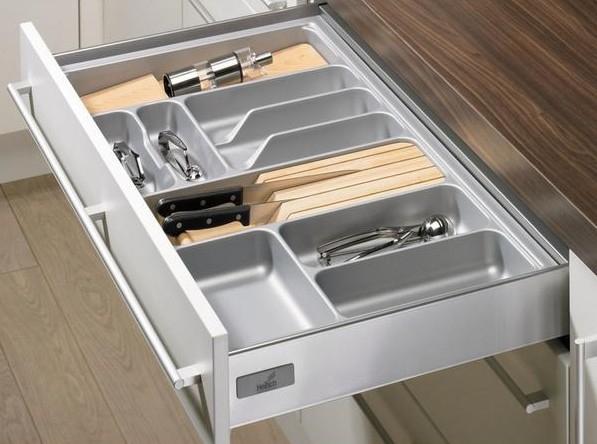 Keukenlade Accessoires : Bestekbak lade indeling nl